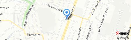 Багира на карте Днепропетровска