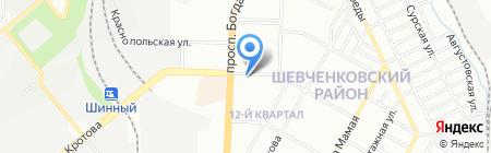 ВАШ ЛОМБАРД ПО на карте Днепропетровска