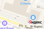 Схема проезда до компании Охранные системы в Днепре