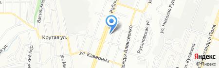 Изготовление ключей и ремонт часов на карте Днепропетровска