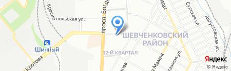 ОптТорг на карте Днепропетровска