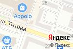 Схема проезда до компании Экспресc Стрижка в Днепре