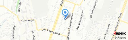 Середня загальноосвітня школа №46 на карте Днепропетровска