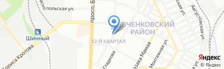 Маки на карте Днепропетровска