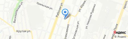 Управління пенсійного фонду України в Красногвардійському районі на карте Днепропетровска