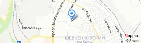 УкрФинАудит на карте Днепропетровска