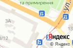 Схема проезда до компании Нотариус Чернова О.И. в Днепре