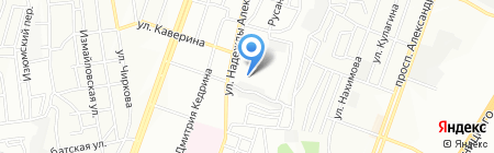 Дніпропетровський навчально-реабілітаційний центр №1 на карте Днепропетровска