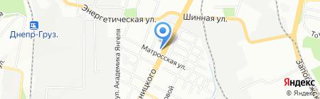 Капкан на карте Днепропетровска