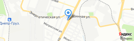 Селена на карте Днепропетровска