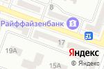 Схема проезда до компании Ощадбанк в Днепре