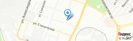 Середня загальноосвітня школа №31 на карте Днепропетровска
