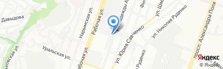 Верес на карте Днепропетровска