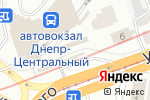 Схема проезда до компании Карат в Днепре