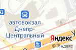 Схема проезда до компании Электро-Бензо-Инструмент в Днепре
