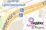 Схема проезда до компании LED lights в Днепре