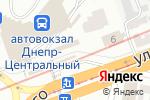 Схема проезда до компании Мое в Днепре