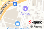 Схема проезда до компании Электрик в Днепре