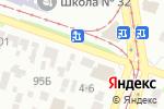 Схема проезда до компании Альфамедика в Днепре