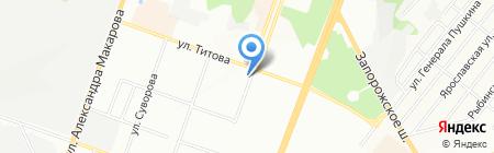 GANS на карте Днепропетровска