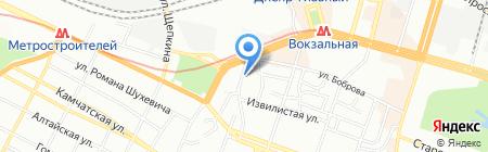 Этрог на карте Днепропетровска