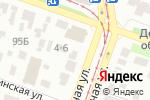 Схема проезда до компании Фанатик в Днепре