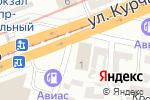 Схема проезда до компании Диамант в Днепре