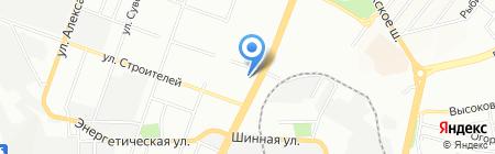 Текила Бум на карте Днепропетровска