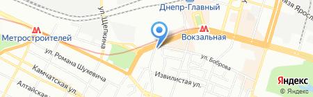 ABRI на карте Днепропетровска