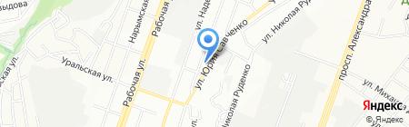 Златовласка на карте Днепропетровска