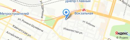 ВАРИУС на карте Днепропетровска