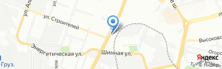 Юлианна на карте Днепропетровска