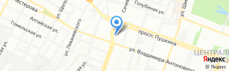 Виза-Пром на карте Днепропетровска