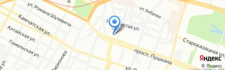 Hid.com.ua на карте Днепропетровска