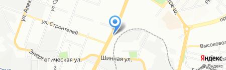 Стильные Ворота на карте Днепропетровска