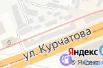 Схема проезда до компании 55/75 плюс в Днепре