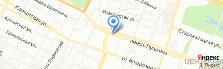 Glamour на карте Днепропетровска