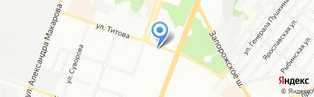 Еко-лавка на карте Днепропетровска