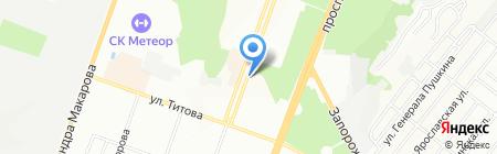 Стома-Центр на карте Днепропетровска