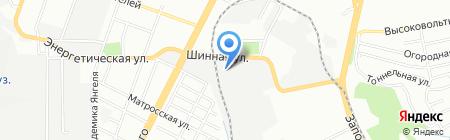 Графика на карте Днепропетровска