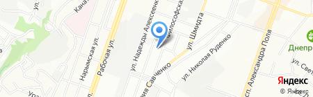 Braun на карте Днепропетровска