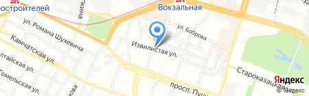ОКНА на карте Днепропетровска