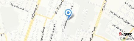 Квітень на карте Днепропетровска