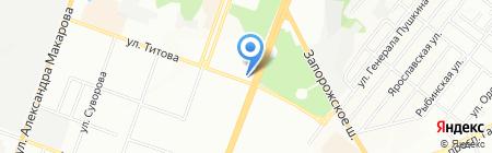 ЛИЛИЯ на карте Днепропетровска