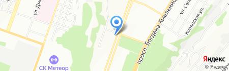 Аптека на проспекте Кирова на карте Днепропетровска