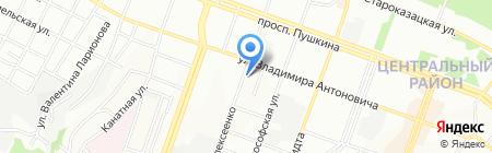 ТОРТУГА на карте Днепропетровска