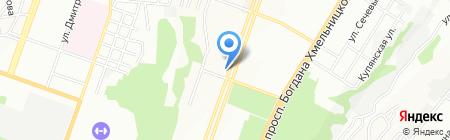 Престиж на карте Днепропетровска