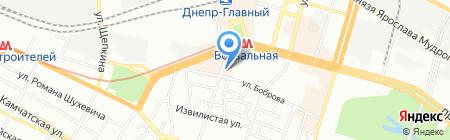 Фальченко В.М. і Компания ПТ на карте Днепропетровска