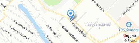 Чайна крамниця на карте Днепропетровска
