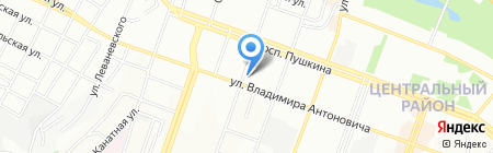 Knife Эстетик на карте Днепропетровска